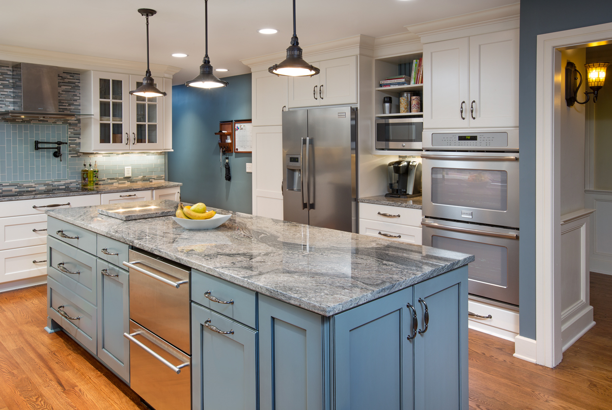 Cabinets Remodeling Hot Trend In Kitchen Remodeling Painted Cabinets Kitchen Kraft