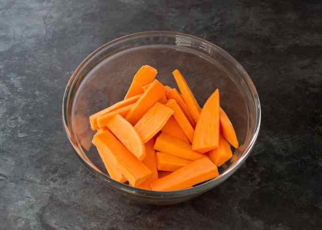 Paprika Pork & Sweet Potato Wedges