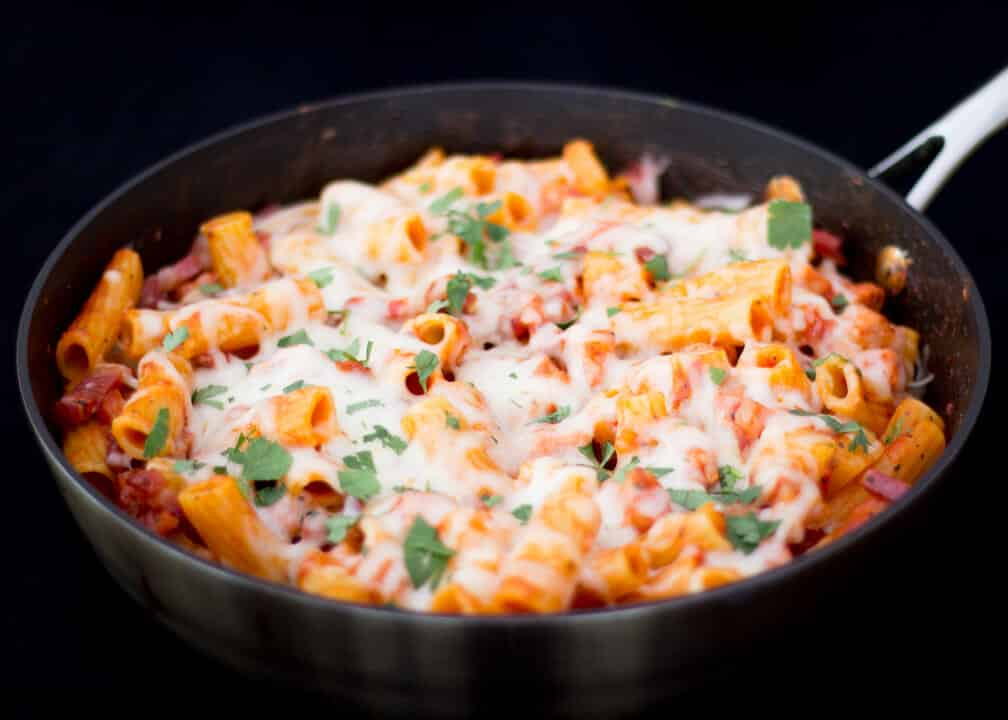One Pot Hawaiian Pasta