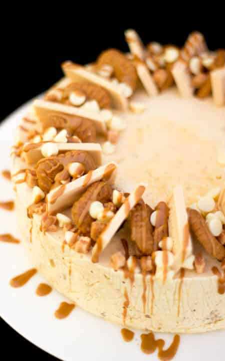 Biscoff Ice Cream Cake - KitchenMason - Easy Step by Step ...