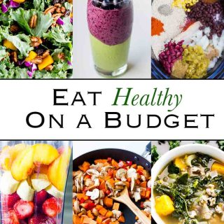Eat Healthy On A Budget: Tips for how to keep your spending on whole, real, healthy foods low and your calorie dense intake high