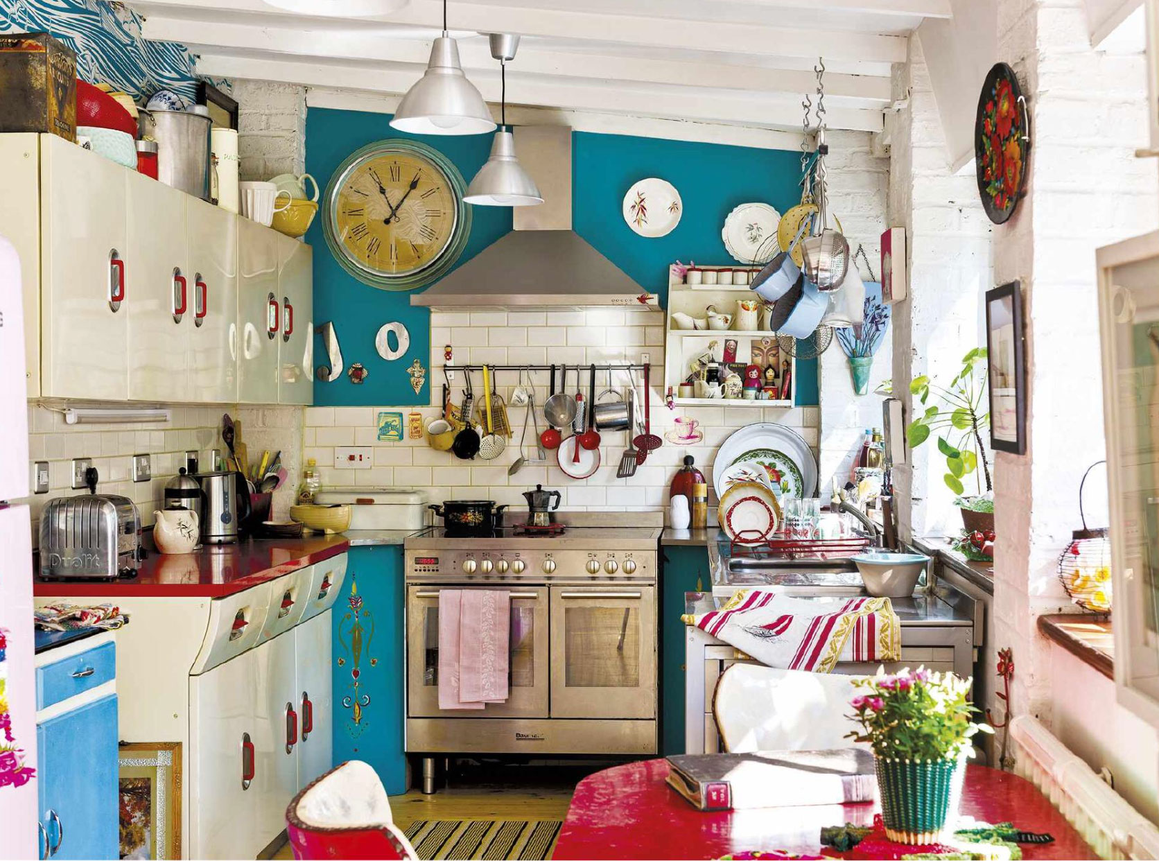 Retro Style Kitchen Top 15 Stunning Kitchen Design Ideas Plus Their Costs