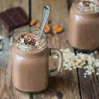 Oaty Chocolate Hot Smoothie - Week 3 of my Hot Smoothie Saturday series for October
