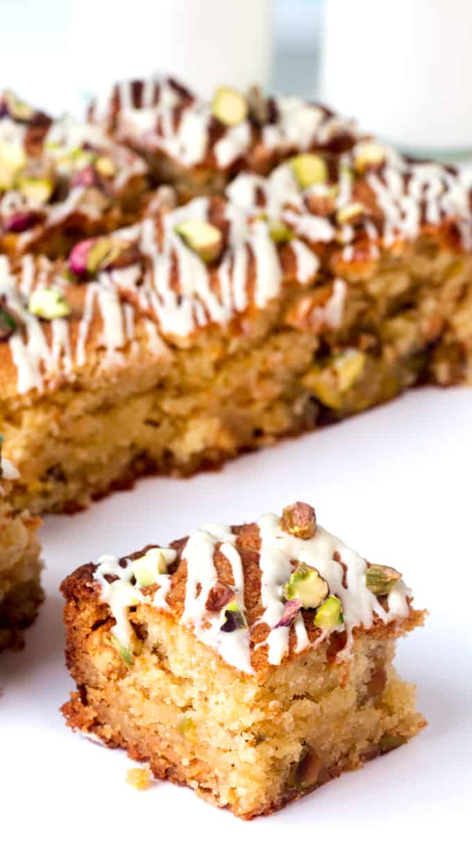Soft, sweet and very moreish, these white chocolate and pistachio ...