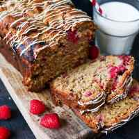 Raspberry and White Chocolate Loaf - Plus a Video!