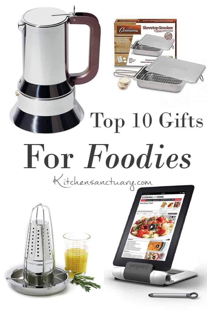 top 10 gifts for foodies nicky 39 s kitchen sanctuary. Black Bedroom Furniture Sets. Home Design Ideas