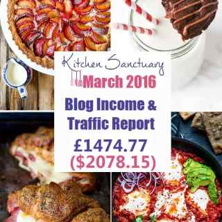 Blog Income and Traffic Report March 2016