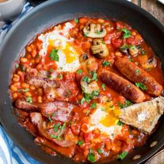 One-Pan English Breakfast