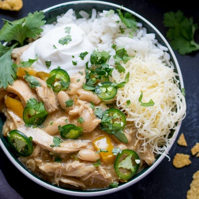 White Chilli Chicken - Con Carne Style!
