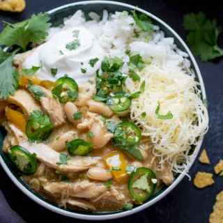 White Chilli Chicken – Con Carne Style!