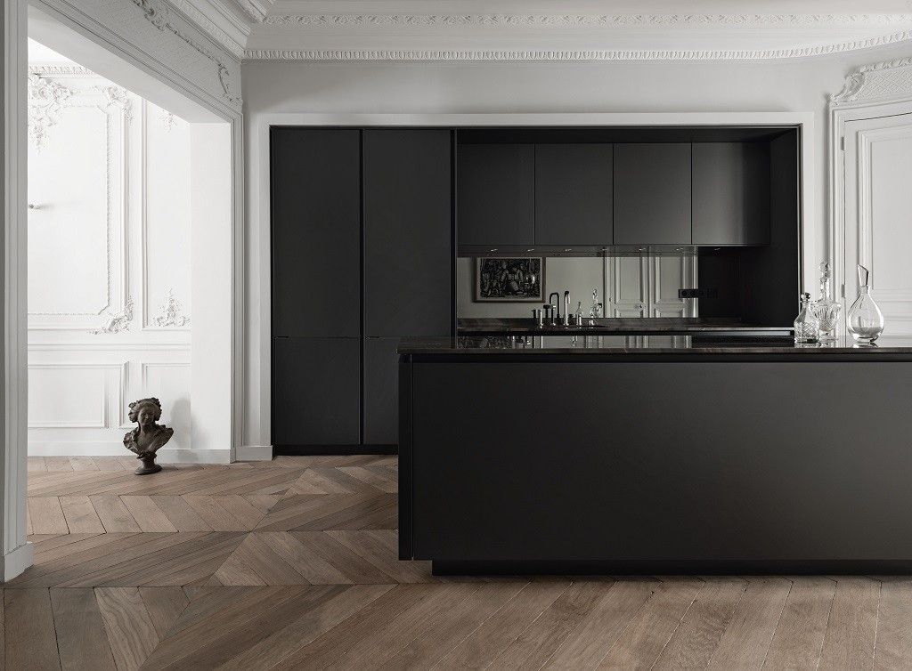Keuken Zwart Marmer Blad Siematic S2slg Agate Grey - Kitchens By Design