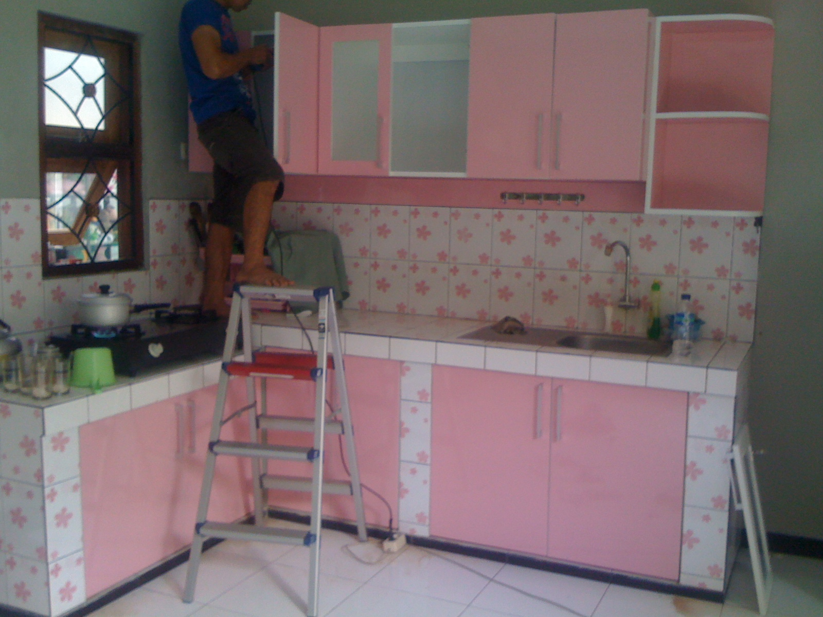 Kitchen Set Name Kitchen Set Finishing Hpl Motif Warna