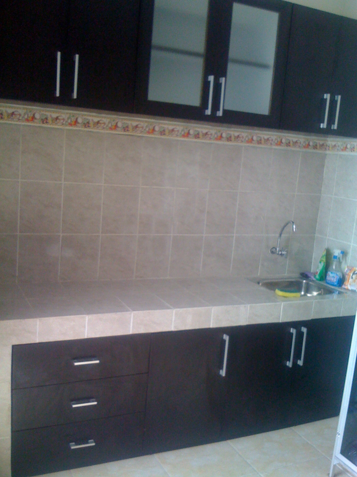 Kitchen Set Name Kitchen Set Dengan Finishing Hpl Motif Kayu