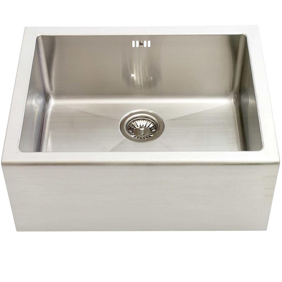Kitchen Sink No Drainer Abode Aspekt Single Bowl No