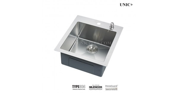 19 Inch Small Radius Stainless Steel Top Mount Kitchen