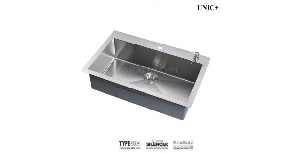33 Inch Small Radius Stainless Steel Top Mount Kitchen