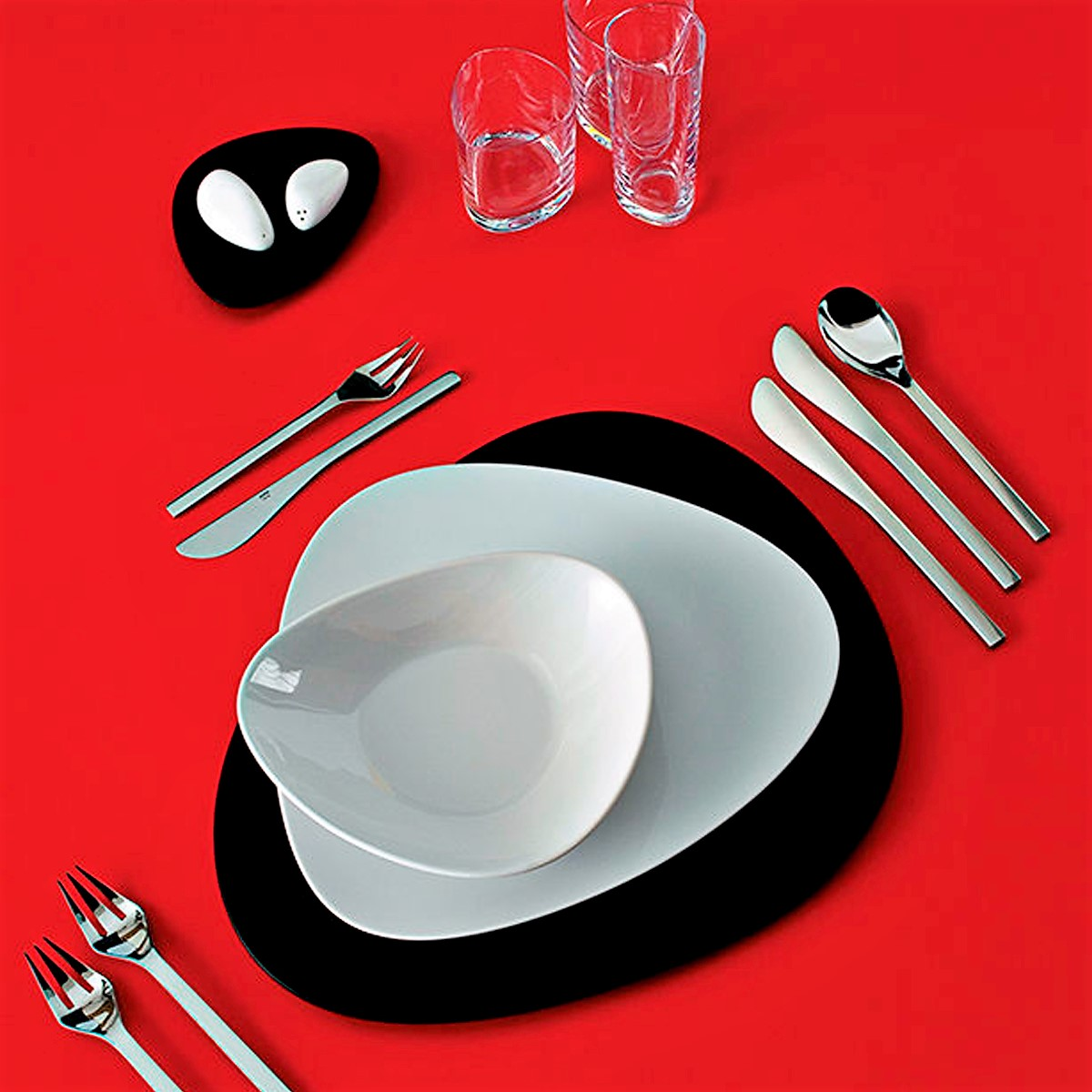 Alessi Silverware Alessi Cutlery Cutlery Sets Colombina Cutlery In