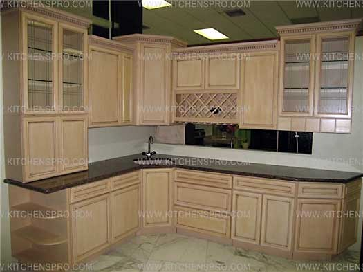 Kitchen Cabinets French Antique Glazed Kitchen Cabinets | Kitchen Pro