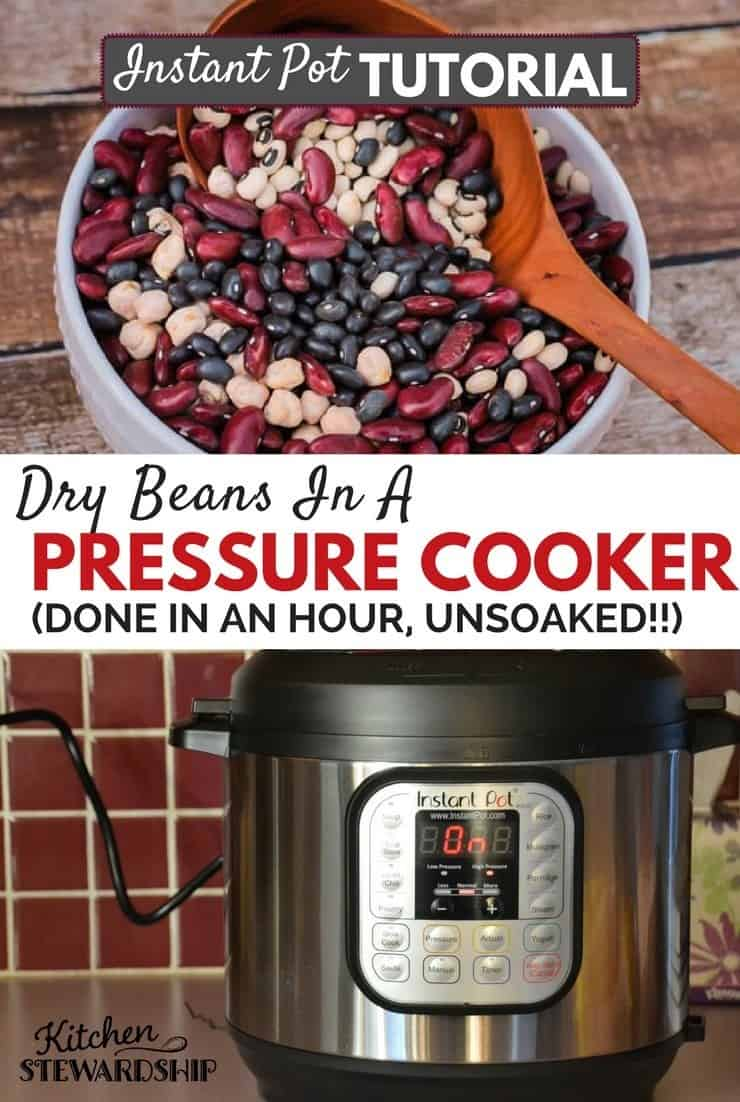 Big W Pressure Cooker How To Pressure Cook Dry Beans Legumes With Or Without Soaking