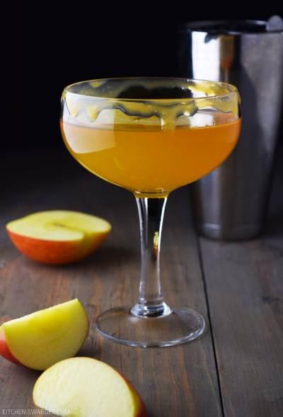 Caramel Apple Martini Recipe | Kitchen Swagger