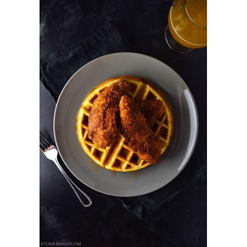 Medium Crop Of Chicken  Waffles