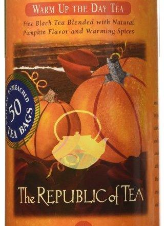 the republic of tea pumpkin spice black tea
