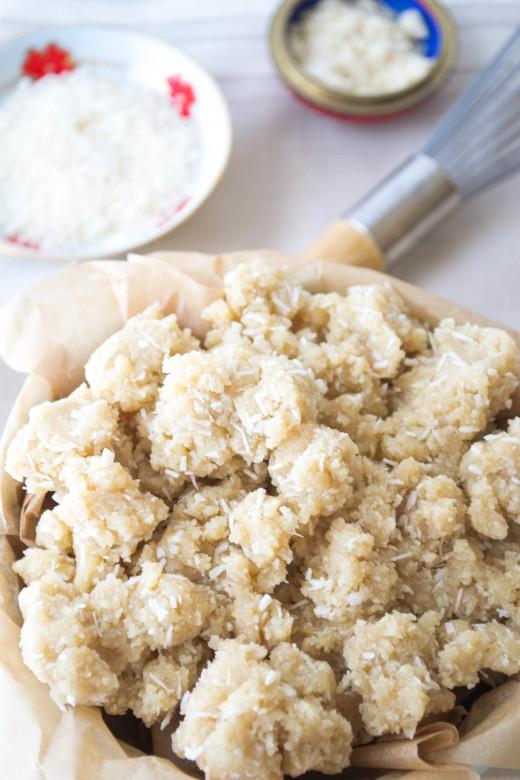 Flourless Almond Tea Cookies