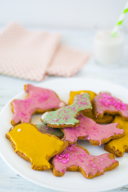 spring holiday cookies
