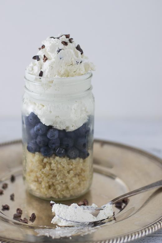 quinoa parfait