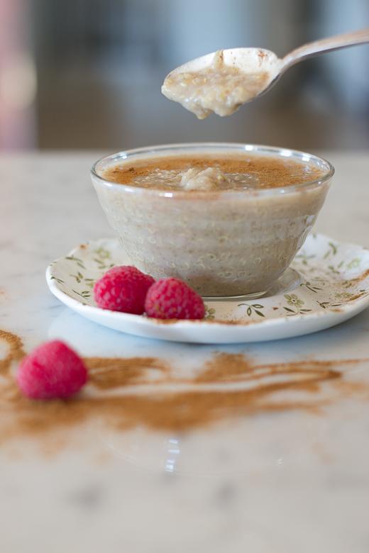 drippy quinoa kheer