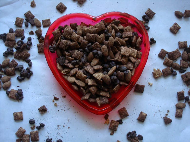 easy chocolate chex mix