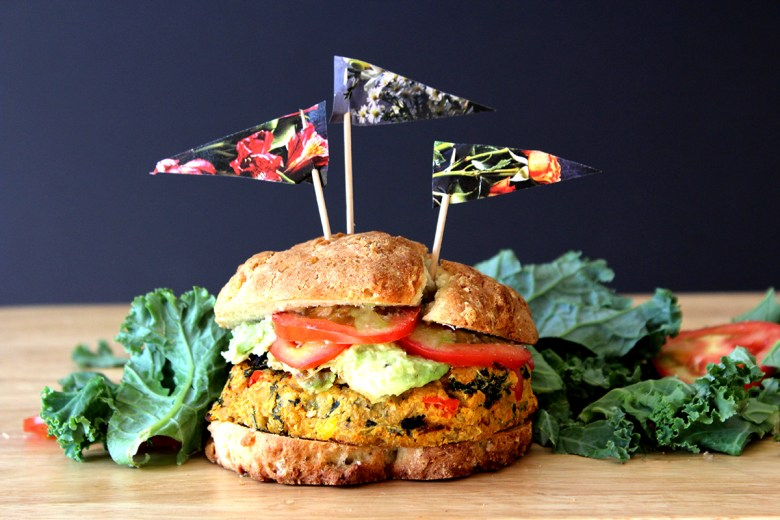 Incredibly Easy Veggie Burger