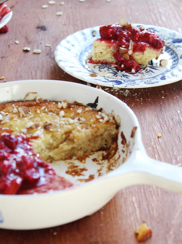 Baked Honey Ricotta Pancake
