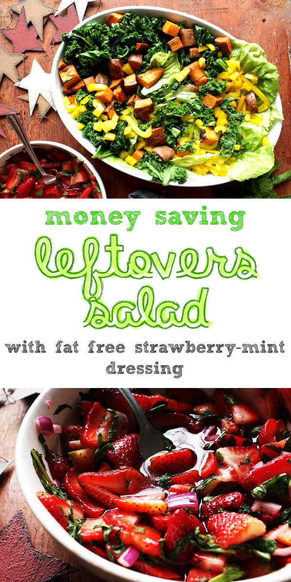 easy leftovers salad easter leftovers salad easy kale salad from leftovers6
