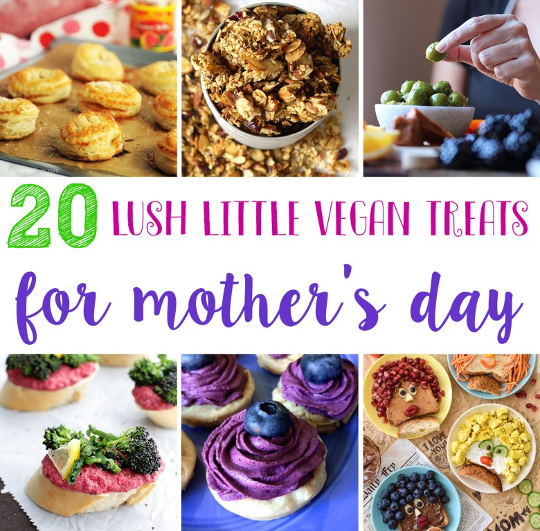 show mama you care and whip her up some edible treats for mother's day!