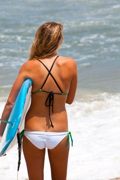 Wallpaper Surfer Girl Sensi Bikini Bottom Kite 2012
