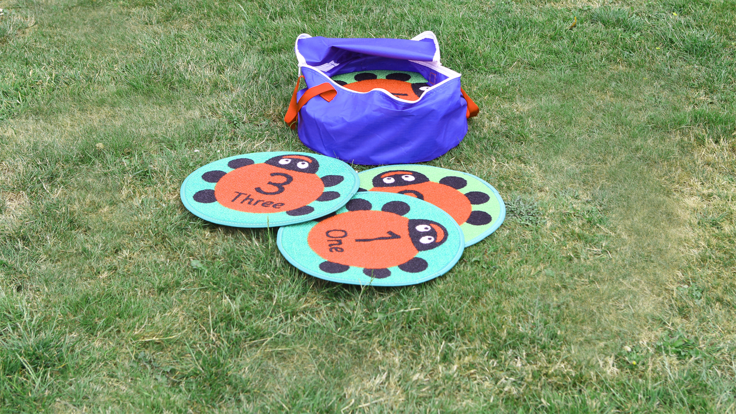 Outdoor Play Mats Back To Nature Counting Ladybird Outdoor Play Mats