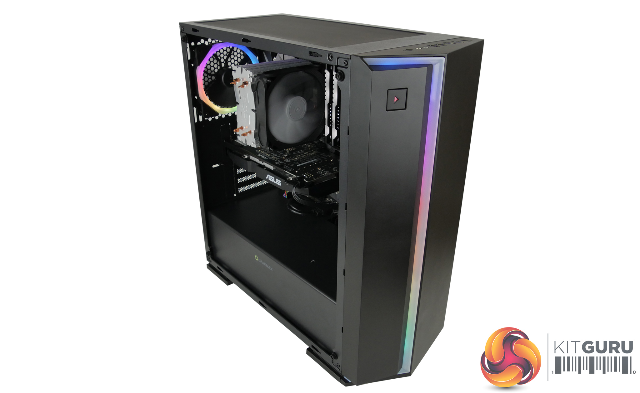 Case Pc Gamemax Starlight Pc Case 51 For All This Kitguru