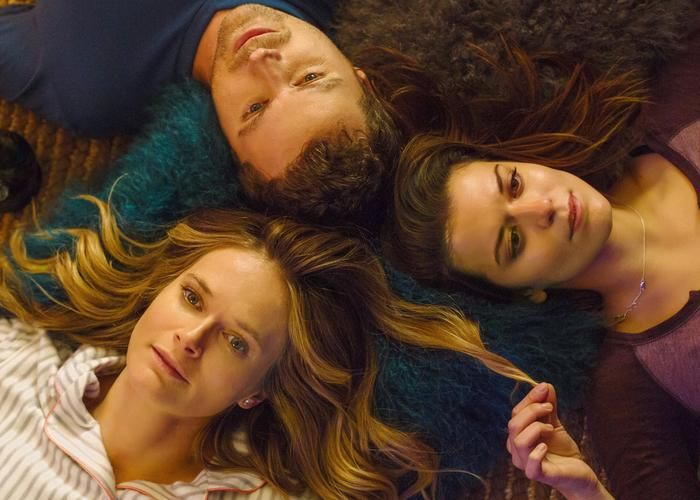 "The three stars of ""You Me Her"""