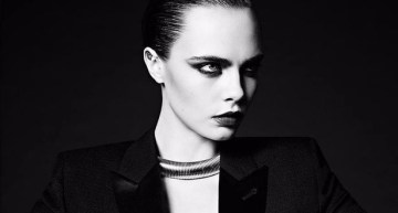 Cara Delevingne STUNS In New Campaign Yves Saint Laurent