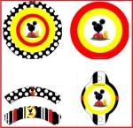 Casa De Mickey Mouse Para Decorar Fiesta Kits Para Imprimir Gratis