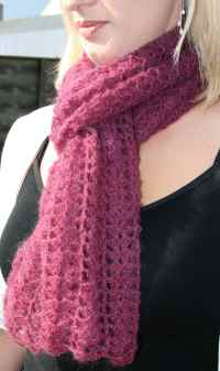 FREE CROCHETED SCARF PATTERNS