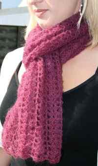 FREE CROCHETED SCARF PATTERNS - Crochet  Learn How to Crochet