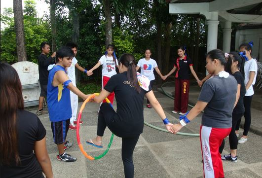 Team Building Games Activities and Games For Office Parties - office fun games