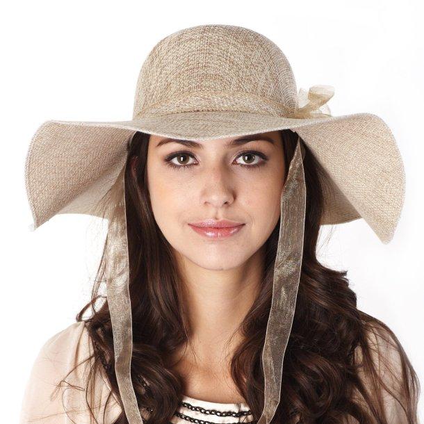 Модные шляпы лета 2012 — соломенная шляпа