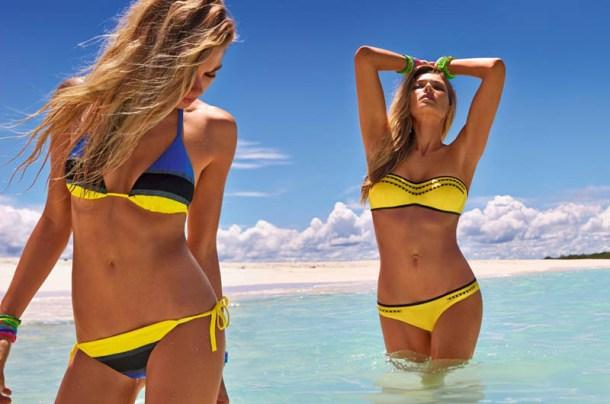 Модная пляжная одежда на лето 2013 года от Calzedonia 13