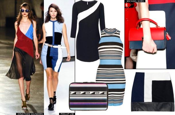 Принты одежды в стиле 60-х - Тренд модной одежды 2013 года