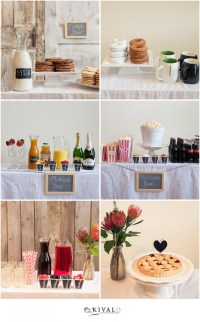 DIY Wedding Bar Ideas