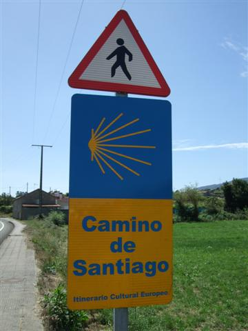 Camino De Santiago De Compostela Sign Posting The Way Of St James Local Heart Global Soul - Camino De Santiago How Many Miles