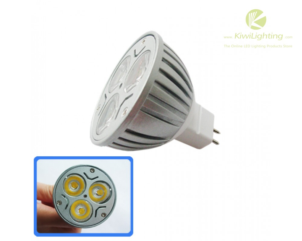 Led Spot Gu10 3 X 1w Led Spot Lamp Bulb Light E14 E27 Gu10 Mr16 White Red Yellow Green Blue